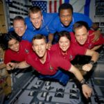 full crew of space shuttle Columbia STS-107